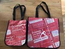 Lot Of 2 Lululemon Reuseable Shopping Bags