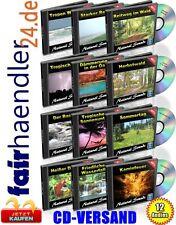 CD VERSAND: NATURGERÄUSCHE Vol. 1-12 meditativ Yoga ChillOut 12 CDs Wellness NEU