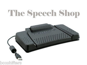 Olympus RS-31H USB Foot Pedal, for use with Olympus AS-7000, Olympus AS-9000