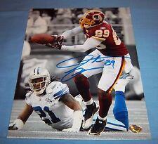 Washington Redskins Santana Moss Signed Autographed 8x10 Photo Miami G