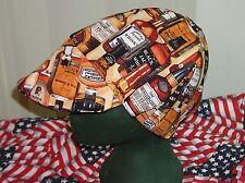 Whiskey : Red's American Made: Welding Hat, Biker, 4 Working Men $7.50 each