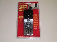 New Portable Security Plus Door Stop Alarm118 Decibel Home Safety Business