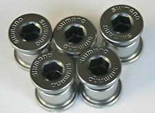 Shimano Dura Ace Chainring bolts 7700 7800 Alloy * set weighs 10 grams NOS