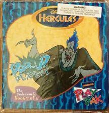 Collectible Blockbuster Pop Up Book Play Set Play Pak Disney Hercules Book 3