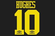 Hughes #10 Manchester United 1993-1995 Away Football Nameset for shirt