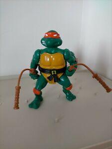 Vintage TMNT Teenage Mutant Ninja Turtles Figure Michaelangelo 1988