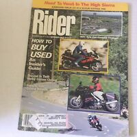 Rider Magazine How To Buy Used A Inside Guide September 1989 060117nonrh3