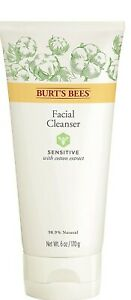 Burt's Bees Sensitive Facial Cleanser with Cotton Extract - 6 oz (170 g)