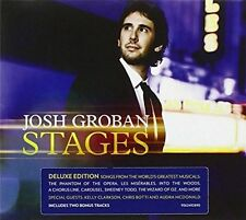 Josh Groban Stages CD Deluxe Edition Digipak Style Bonus Tracks Inc. Anthem