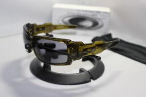 New Oakley Oil Drum I 1.0 Sunglasses Dark Olive/Grey 30-675