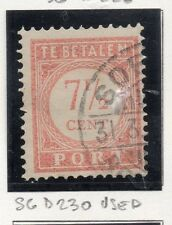 Dutch Indies 1913-39 Port Postage Due Issue Fine Used 7.5c. 163429