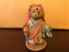 Cherished Teddies India You'Re The Jewel Of My Heart Girl Holding Elephant 1996