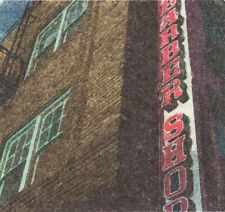 Barber shop photo, Americana art print