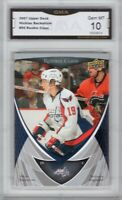 GMA 10 Gem Mint NICKLAS BACKSTROM 2007/08 UPPER DECK Rookie Card CAPITALS!
