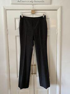 Ralph Lauren Trousers UK 8 Grey Tweed Herringbone NEW WITH TAGS 100% Wool