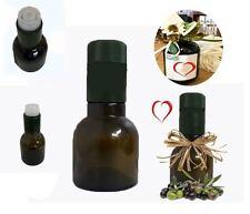 Bottiglia kolio verde per olio con tappo guala antirabbocco da 100 ml 40 pezzi