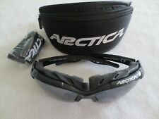 Arctica black frame mirror sunglasses. Licence Cyclone S-163H. With case.