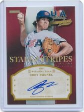 2013 PANINI STARS STRIPES USA CHAMPIONS SIGNATURE AUTO CODY BUCKEL 276/676 53243