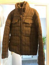 DKNY Puffer Coat Jacket Small Grey Winter £200 RRP