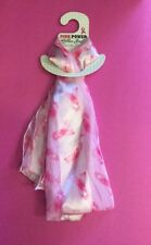 Breast Cancer Awareness Pink Ribbon Ladies Scarf  SHIPS FROM USA