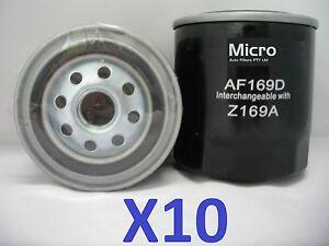 10x Fuel Filter Suit Z169A Isuzu ELF, Nissan Navara Patrol, Holden Rodeo Shuttle