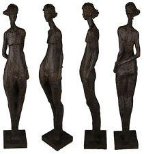 XXL GARTEN SKULPTUR AKT FRAU im Stile A. Modigliani 100 cm