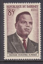 Dahomey 140 Mnh 1960 Prime Minister Hubert Maga - Independence Issue Vf