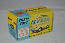"Corgi Toys 420 Ford Thames ""Airborne""caravan complete empty original box"