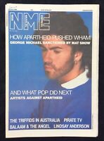 NME 28 June 1986 George Michael Cover Triffids Lindsay Anderson Balaam & Angel