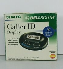 Bellsouth Caller ID CI 64 FG Dark Green Screen Display 3 Line Name And Number
