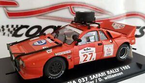 LANCIA 037 ROJO SAFARI LIMPIO RALLY 1985 REF.A2009 FLY