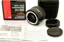 Mint in Box Sigma APO Tele Converter 2X EX DG AF for Nikon Case Cap from Japan