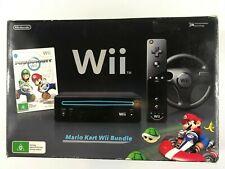 Nintendo Wii Mario Kart Bundle , Australian Version