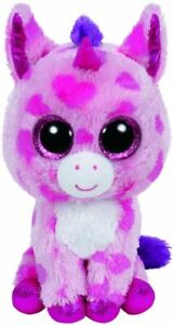 Ty Beanie Boo Boos 36175 Sugar Pie the Pink Unicorn Regular
