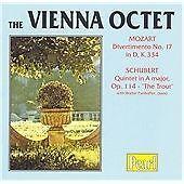 """Mozart: Divertimento No. 17; Schubert: Quintet """"The Trout"""" (2001)"""