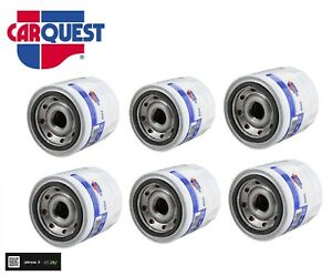 NEW LOT OF 6 CARQUEST 84830 Engine Oil Filter- REPLACE PH3593A For- Hyundai, Kia