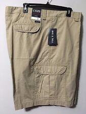 Chaps Ralph Lauren Cotton Ripstop TAN CARGO SHORTS Men's Size 44 44B NEW