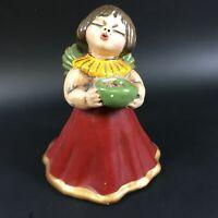 Alter Bozner Thun Engel Angel Keramik Italy Figur Kerzenständer Pottery 14ET2