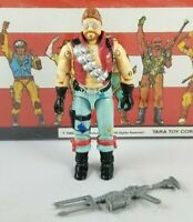 Original 1986 GI JOE MONKEYWRENCH V1 figure UNBROKEN Complete Cobra DREADNOK