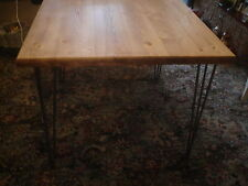Wooden Vintage/Retro Kitchen & Dining Tables with Flat Pack