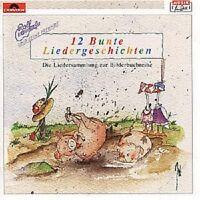 "ROLF ZUCKOWSKI ""12 BUNTE LIEDERGESCHICHTEN"" CD NEU"