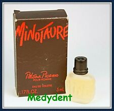 MINOTAURE BY PALOMA PICASSO EAU DE TOILETTE 5 ML / .17 OZ SPLASH FOR MEN NIB