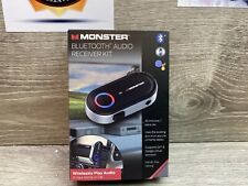 ✅ MONSTER INC Bluetooth Aux Audio Receiver for car google and siri