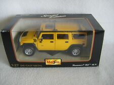 NIB Maisto Die-cast Collection Special Edition Hummer H2 SUV 1:27 Scale