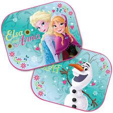 2 x nuevo Disney Frozen VENTANA COCHE Sun Shades UV persianas Visera Niños Niños Bebé