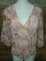 Ann Taylor LOFT Blouse Women's Shirt Size 4