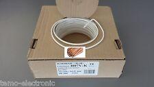 H07V-K 1,5mm² 100m. Ring WEISS PVC-Aderleitung 1x1,5 / Grundpreis 0,19€/m.
