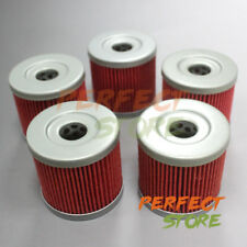5 Pcs Oil Filter for 2003-2014 Suzuki LTZ 400 Kawasaki KFX400 Arctic Cat 400