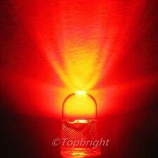 10 PCs 0.5W 5-Chips 5mm 60° High Power Red LED 80Kmcd