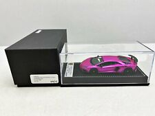 1:43..Looksmart--LS447SC Lamborghini Aventador LP 750-4 Pink Flash SV / 2 Q 162